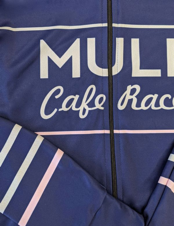 MULE Womens Long Sleeve Jersey Pink stripe